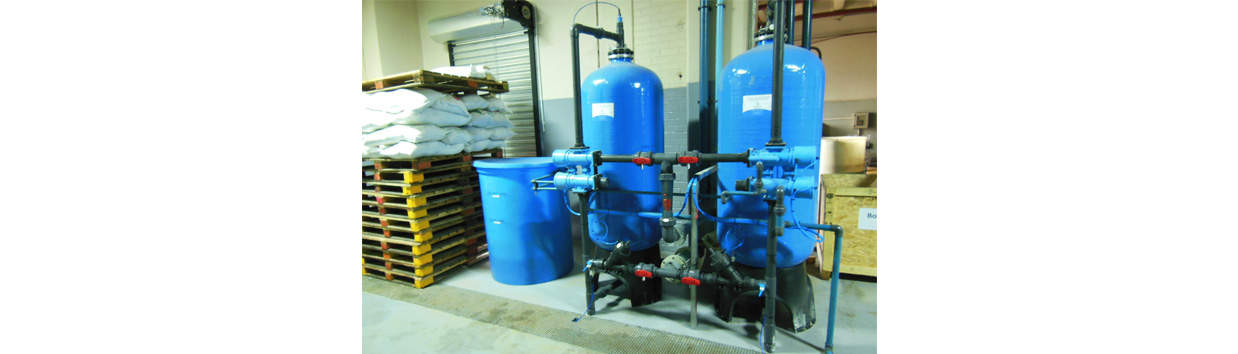 Duplex Industrial Water Softener