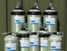 Standard Mixed Bed Exchange Cylinders