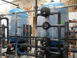 Duplex AC Filters under construction