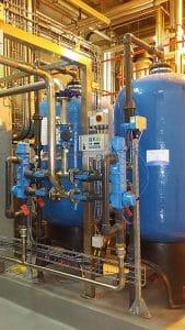 Duplex Softener with Bulk Saturator supply
