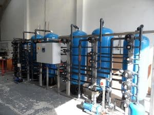 Duplex Water Recovery DI Plant