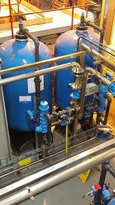 Duplex Water Sofener with ES Controller
