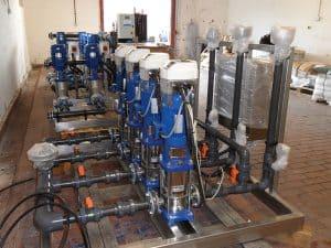 Pump Skids awaiting disptach