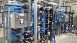 Water Recovery DI Plant