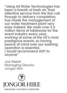 testimonials water treatment